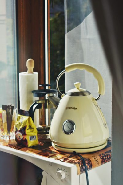 kettle is a portable appliance